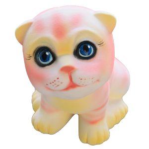 Котик маленький розовый флок