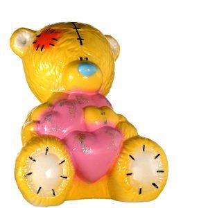 Мишка Тедди глянец желтый