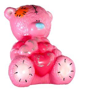 Мишка Тедди глянец розовый