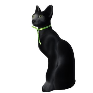 Керамическая Копилка Кошки Сиам черный