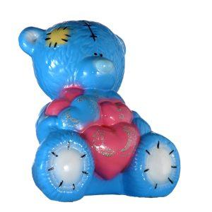 Мишка Тедди глянец голубой