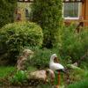 Купить садовых аистов