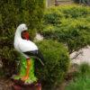 Садовая фигура аист купить