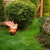 Садовый Гном с табличкой