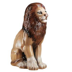 Большая Керамическая Копилка Лев глянцевый
