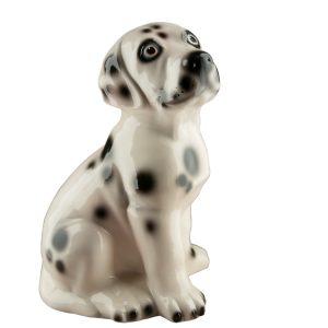 Керамическая Копилка собака Далматинец глянец