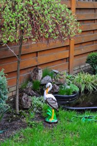 Птицы садовые статуэтки