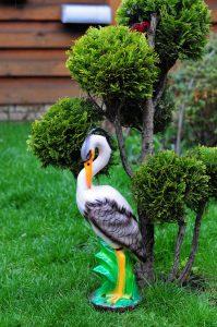 Цапля Фигурка для сада6
