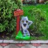 Купить садовый Волк фигурки в магазине