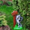 Садовая фигура Волк заходи если шо купить украина