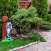 Садовые фигуры производитель украина волк с табличкой купить производитель