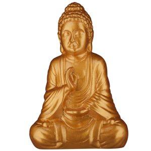 Керамическая Статуэтка Будда золотой глянец