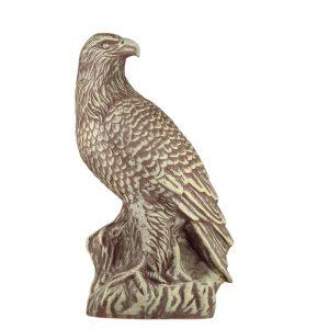 садовая фигура Орел коричневый под камень