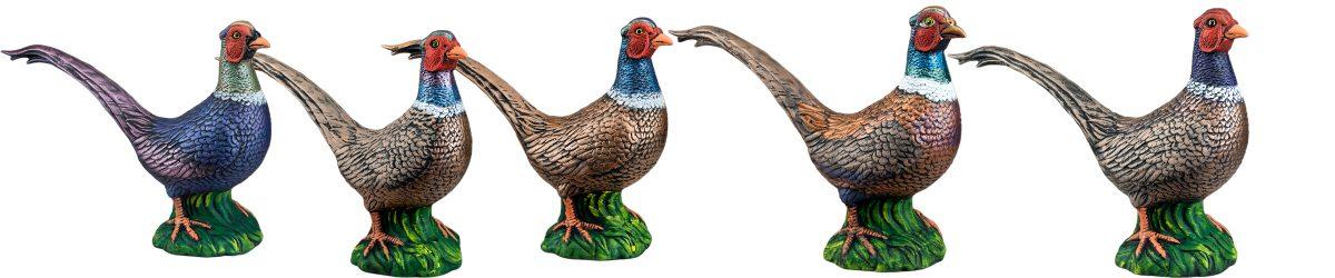 Купить фигурки фазанов