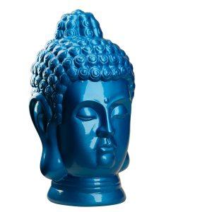 Фігурка Голова Будди блакитне сяйво