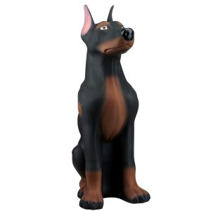 Керамическая Копилка собака Доберман акрил